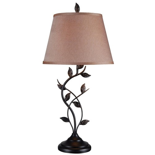 Kenroy Home Ashlen 31 in. Oil-Rubbed Bronze Table Lamp