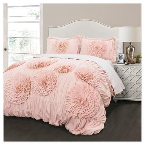 Lush Decor Serena 3 Piece Comforter Set