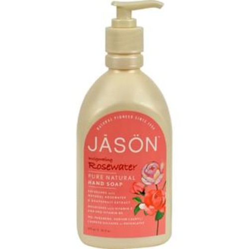 Jason Natural Products Jason Pure Natural Hand Soap Invigorating Rosewater - 16 Fl Oz