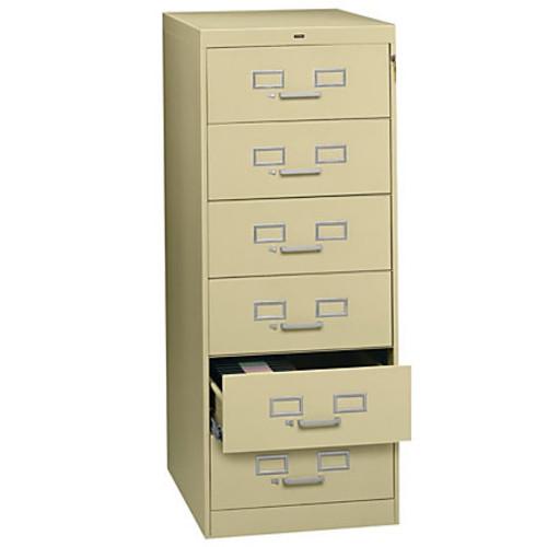 Tennsco Card Files & Media Storage Cabinet - 21