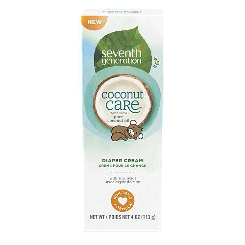 Seventh Generation Coconut Care Diaper Cream - 4 Ounce Tube