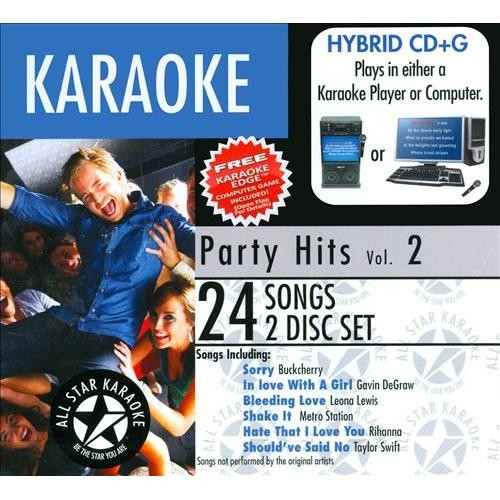 Karaoke: Party Hits [CD]