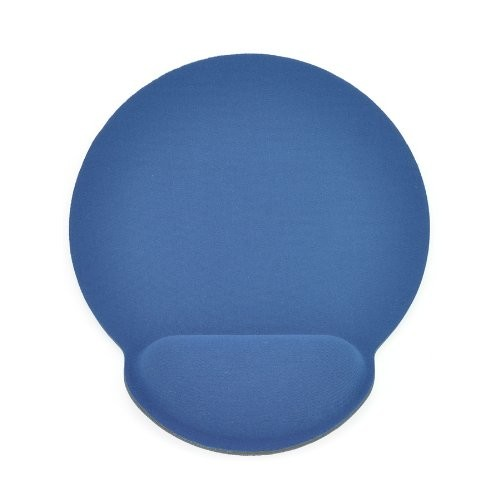 Gear Head Mouse Pad with Wrist Rest with Memory Foam, Blue (MPWR4100BLU)