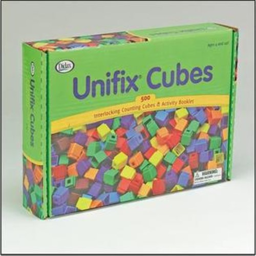 Unifix (Price/per pack)Unifix Cubes/500