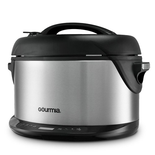 Gourmia 6-qt. SmoCooker Turbo + Multi-Mode Pressure Cooker