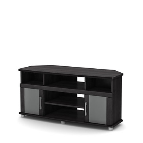 South Shore City Life Particleboard Corner TV Stand For Televisions Up To 50