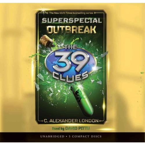 Outbreak : Library Edition (Special) (CD/Spoken Word) (C. Alexander London)