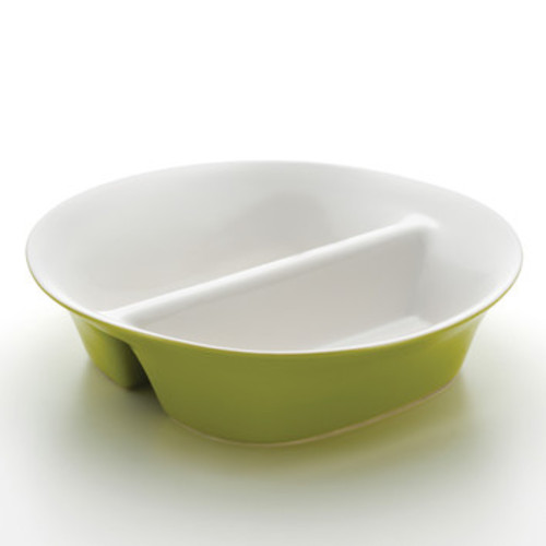 Round & Square Divided Serving Dish
