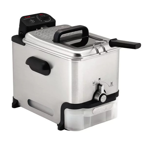T-fal FR8000 Stainless Steel 3.5-Liter Immersion Deep Fryer