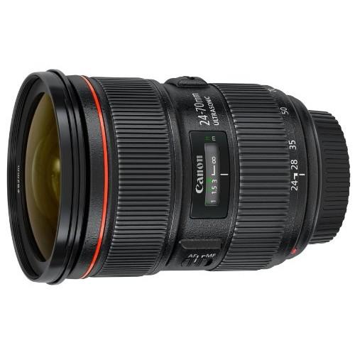 Canon EF 24-70mm f/2.8L II USM Standard Zoom Lens [Lens Only]