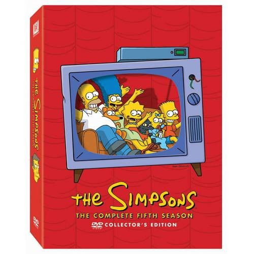 Simpsons: The Complete Fifth Season [4 Discs] (Boxed Set) (Subtitled) (DVD) (Eng/Fre/Spa)