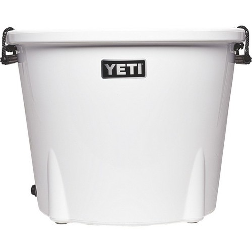 Yeti Tank 85 Tub Cooler  White, 96-Can Capacity