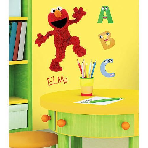 RoomMates RMK1482GM Sesame Street Elmo Peel & Stick Giant Wall Decal [Elmo]