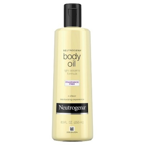 Neutrogena Light Sesame Formula Fragrance Free Body Oil - 8.5 oz