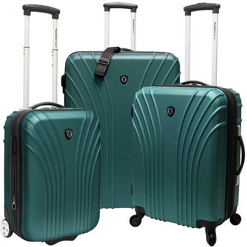 Traveler's Choice 3-Piece Hardside Ultra Lightweight Luggage Set