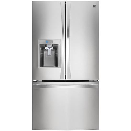 Kenmore Elite 74023 29.8 cu. ft. French Door Bottom-Freezer Refrigerator - Stainless Steel
