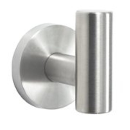 Amerock BH26542-SS Arrondi Collection Robe Hook, Stainless Steel [Stainless Steel]