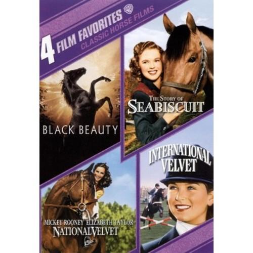 Classic Horse Favorites: 4 Film Favorites [2 Discs] [DVD]
