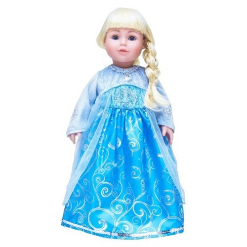 Little Adventures Doll Dress Ice Princess