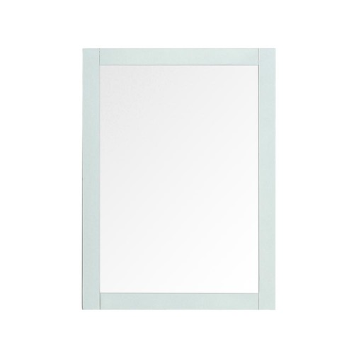 Home Decorators Collection Orillia 30 in. x 22 in. Framed Wall Mirror in Misty Latte