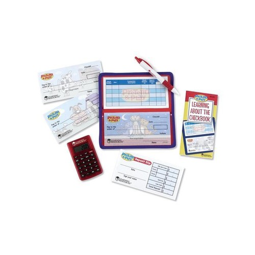 Pretend & Play Checkbook W/ Calculator