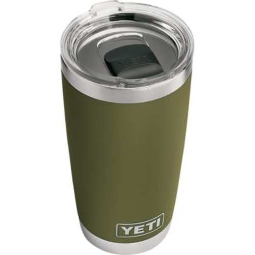 YETI Rambler Tumbler with Magslider Lid  Olive Green