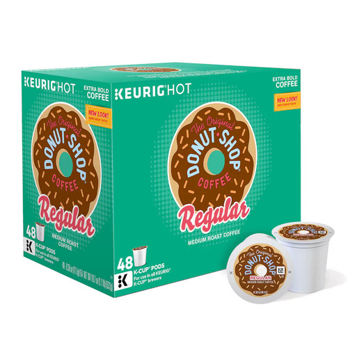Keurig K-Cup Pod The Original Donut Shop Regular Coffee - 48-pk.