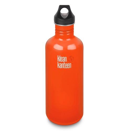 Klean Kanteen Classic Stainless Steel Water Bottle - 40 oz., BPA-Free