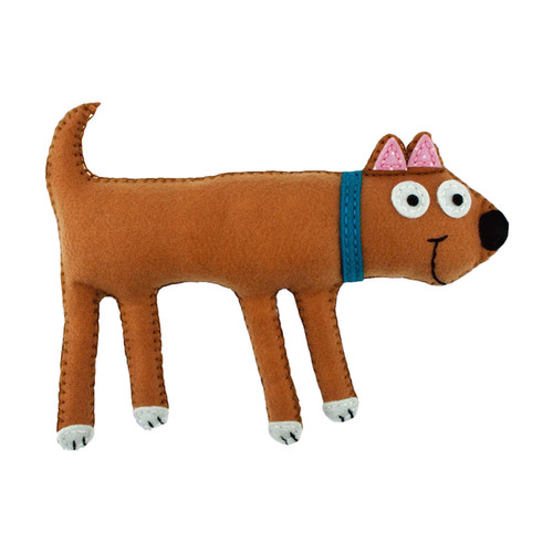 My Studio Girl Sew-Your-Own Dog Mini Pillow Sewing Kit - My Studio Girl Sew-Your-Own Dog Mini Pillow