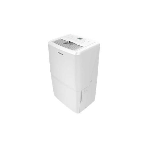 Hisense - 50.1-Pint Portable Dehumidifier - White