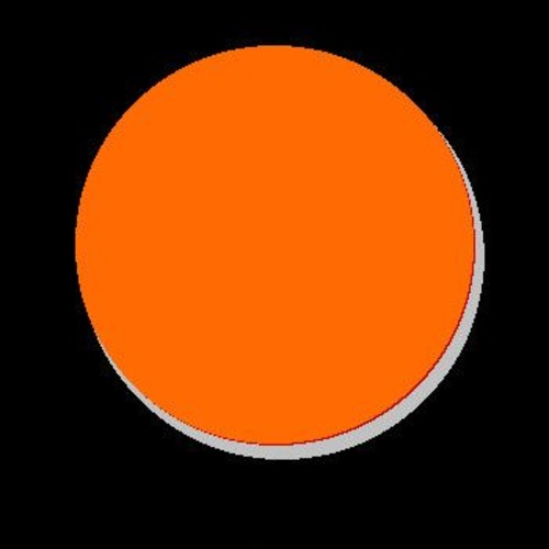 DecaltheWalls Always Kiss Me Goodnight Wall Decal; Orange