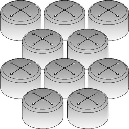 Chief CMA278 Vinyl Cap, 10 Pack CMA278