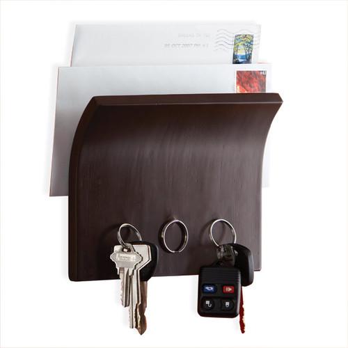 Umbra Espresso Magnetter Key & Letter Holder