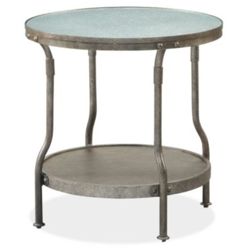 Cambridge Round End Table, Quick Ship