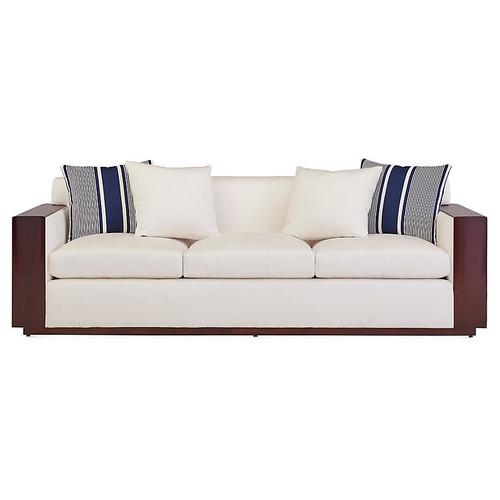 Modern Metropolis Sofa, Natural