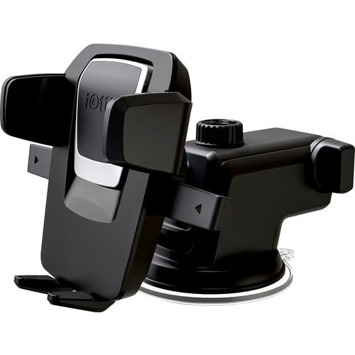 iOttie - Easy One Touch 3 Universal Dash & Windshield Car Mount for Mobile Phones - Black