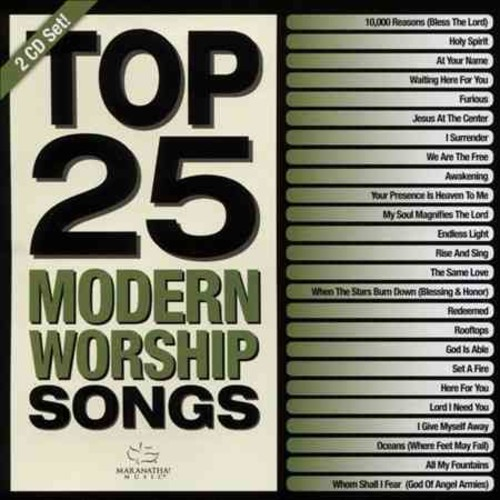 Various - Top 25 Modern Worship Songs Green