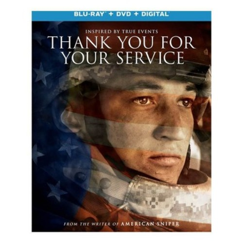 Thank You for Your Service (Blu-ray + DVD + Digital)