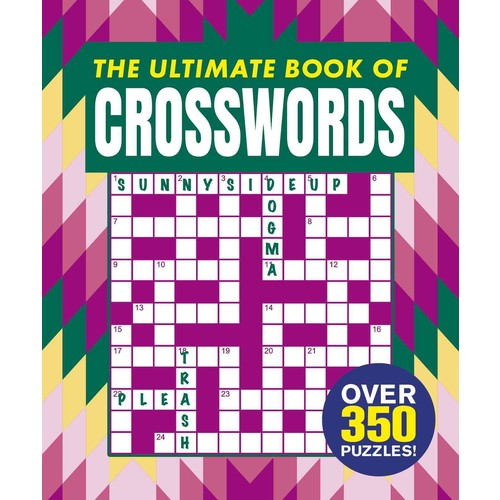 The Ultimate Book of Crosswords (Paperback)