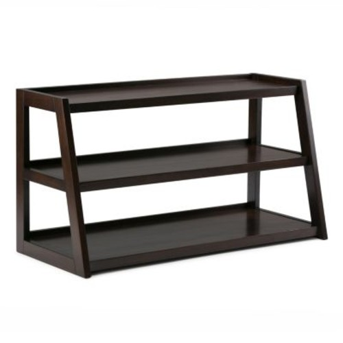 Simpli Home Sawhorse 3-Shelf TV Stand