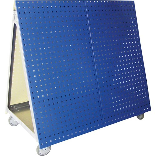 Triton LocBoard Mobile Tool Cart  Blue, 28.3 Sq. Ft. of Storage,