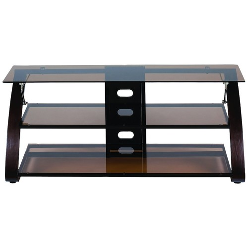 Z-Link ZL56855SU TV Stand for 65-Inch, Keira Glass [65-Inch]