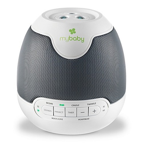 HoMedics MyBaby Lullaby SoundSpa with Image Projection in White