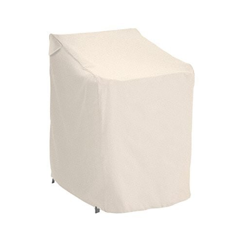 Classic Accessories Terrazzo Stackable Patio Chair Cover - All Weather Protection Outdoor Furniture Cover (58972)