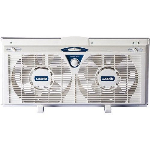 Lasko Electrically Reversible Twin Window Fan (2138)