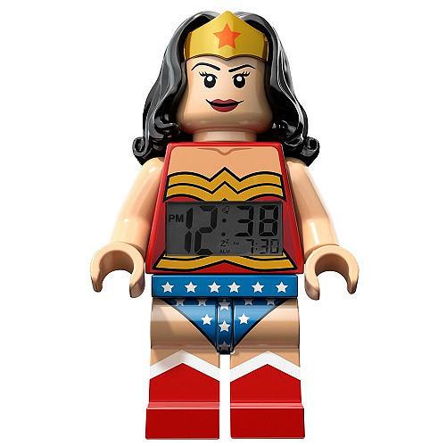 LEGO DC Universe Super Heroes Minifigure Clock - Wonder Woman