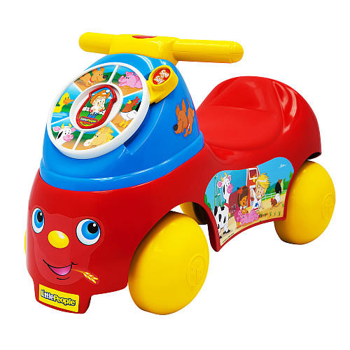 Fisher-Price Little People See 'N Say Farm Powered Ride On