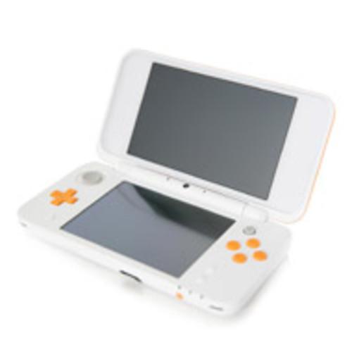 Nintendo New 2DS XL System - Orange/White (GameStop Premium Refurbished) [Pre-Owned]