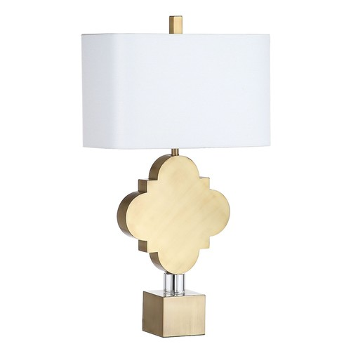 Safavieh Marina Quatrefoil Table Lamp