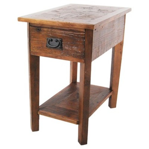 Alaterre Revive Reclaimed Chairside Table - Natural